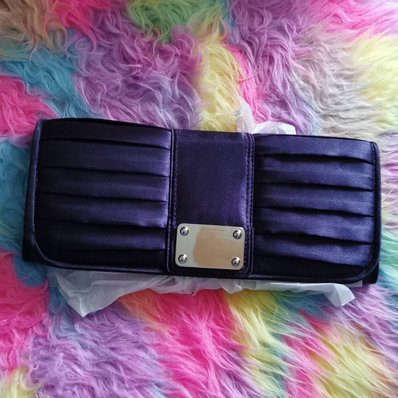 Purple Le Chateau Evening Bag